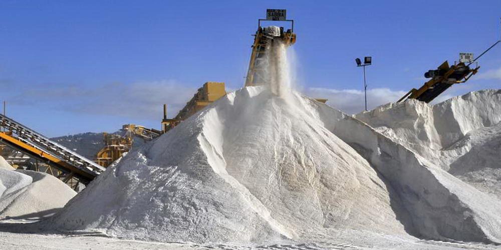 Sabbia cava Macchina