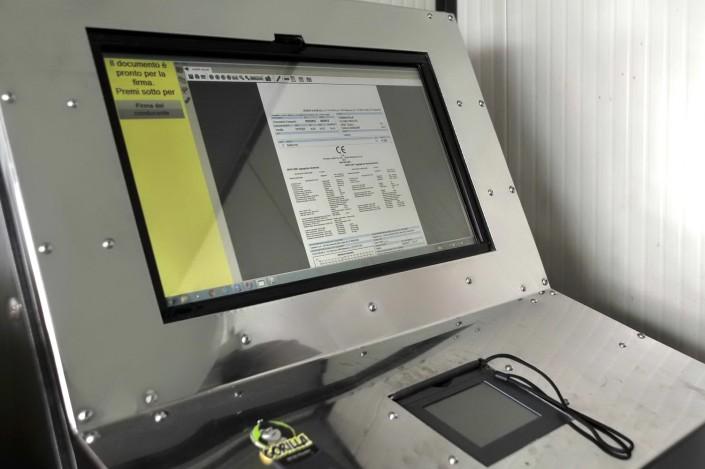 Sistema di pesatura informatizzato foto azienda 80
